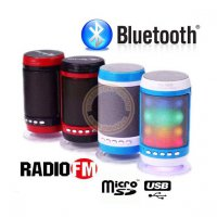 Bluetooth reproduktor, MP3, Rádio, HandsFree, LED