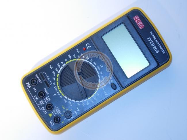 Multimetr digitální DT-9205